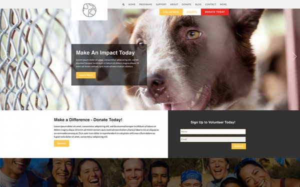 <p>Fetch humane society website theme.</p>