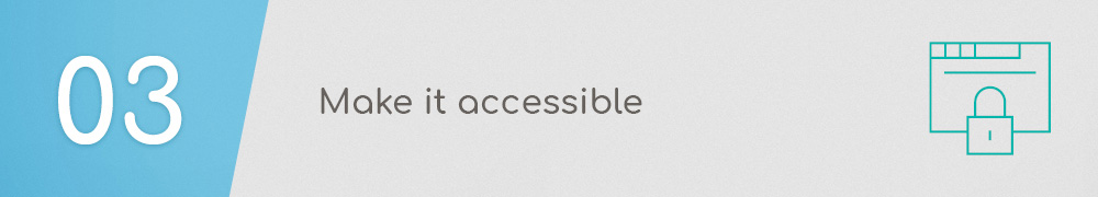 Association Website Best Practice: Make it accessible