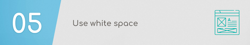 Association Website Best Practices: Use white space