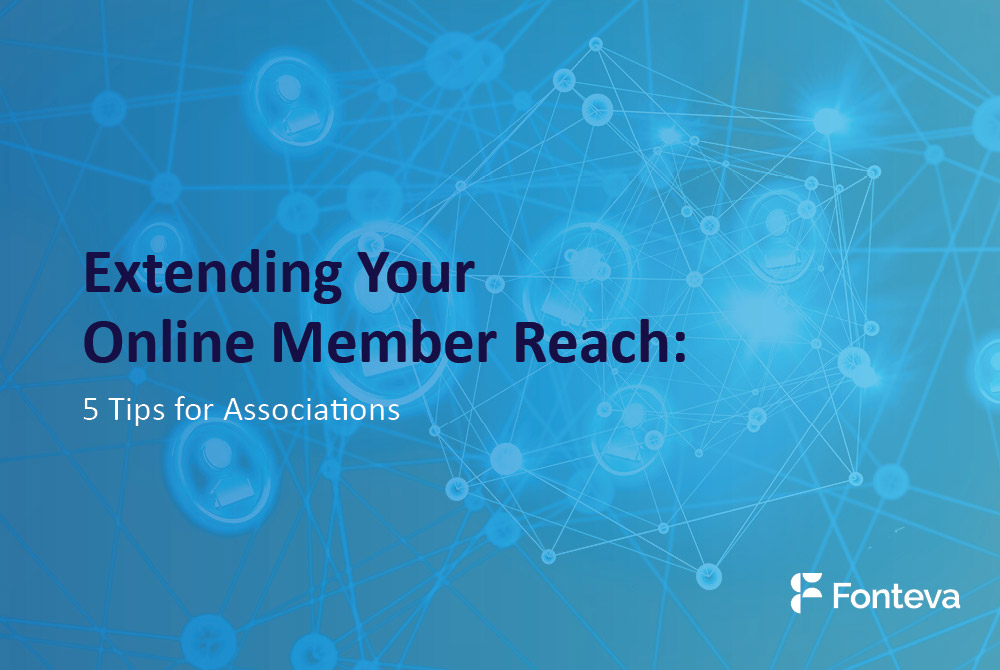 Extending your online member reach graphic