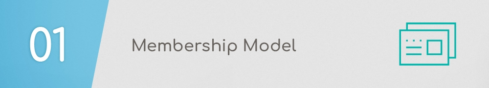 The first step when learning how to create a membership website is to build a compelling membership model.