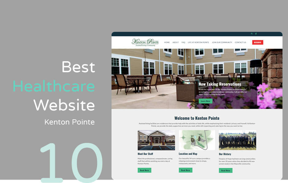 Best hospital website: Kenton Pointe Assisted Living Facility