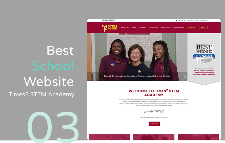 10 Best School Website Designs And How They Did It
