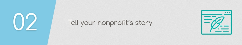 Giving Tuesday Idea: Tell your nonprofits story