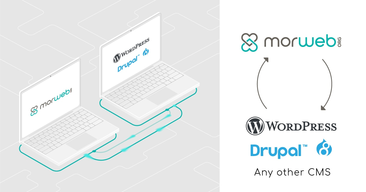 Morweb CMS compared to WordPress and Drupal