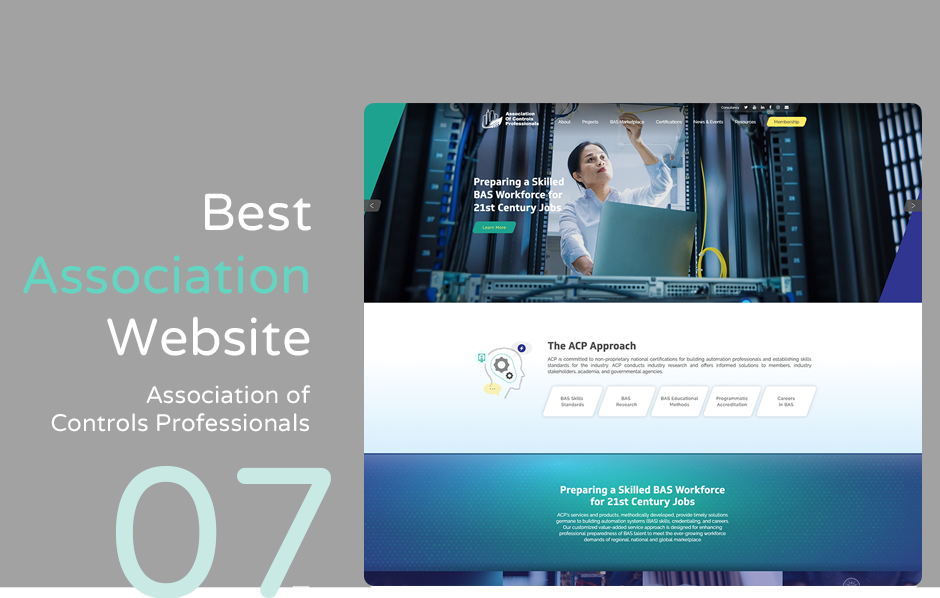 Top association website: Association of Controls Professionals