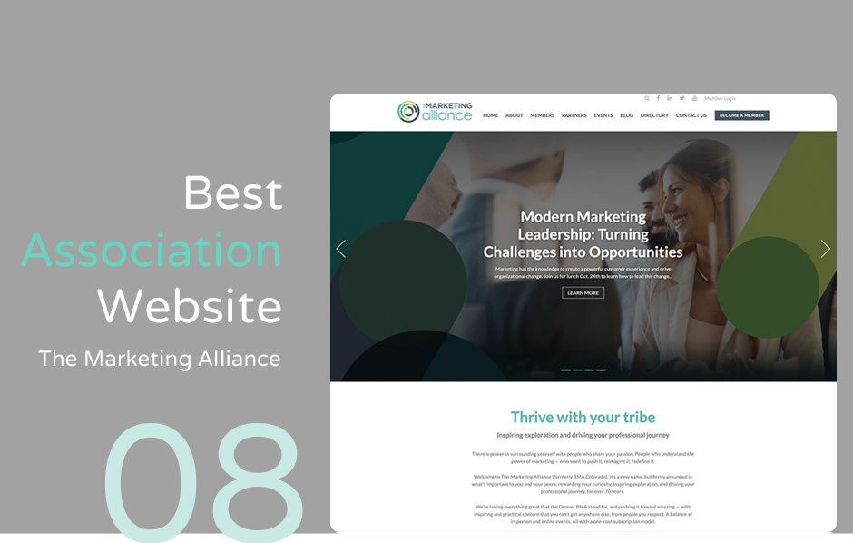 Top association website: The Marketing Alliance