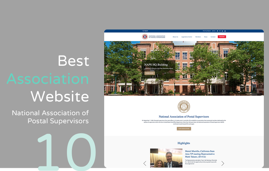 Top association website: National Association Postal Supervisors