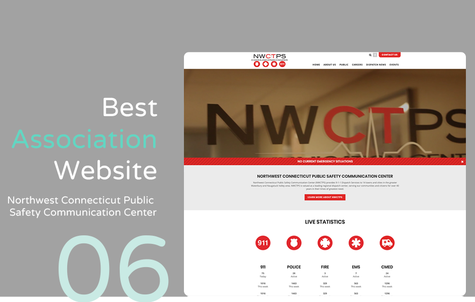 Top association website: NWCPSC Communication Center