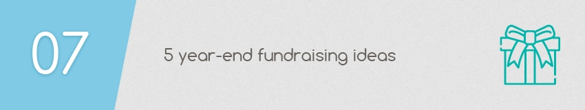 5 Year-End Fundraising Ideas for Your Nonprofit